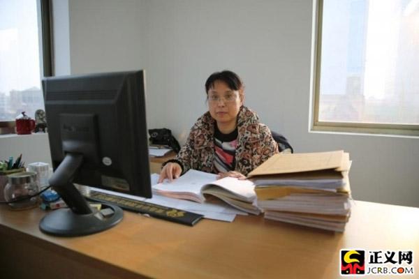 山东省青岛市崂山区检察院公诉科科长昝立群
